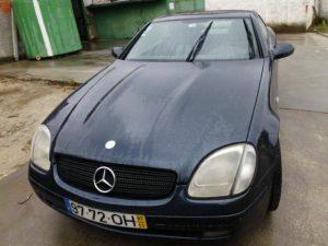 Mercedes SLK 200 de 99 Licitação 4550 euros 2