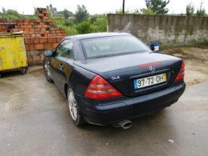 Mercedes SLK 200 de 99 Licitação 4550 euros 4