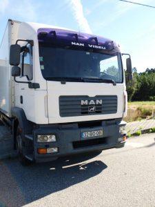 Camião MAN licitação 6888 euros 2