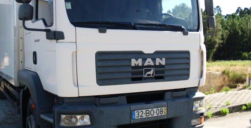 Camião MAN licitação 6888 euros 1