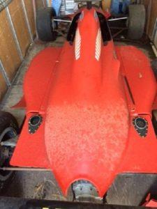 Carro tipo formula 1 sem motor base de Licitação 861 euros 4
