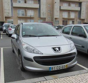 Peugeot 207 do ano 2006 Licitação 1400 euros 2