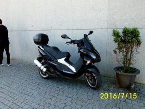 Motorizada 125cc ano 2012 licitação 525 euros (vendida) 2