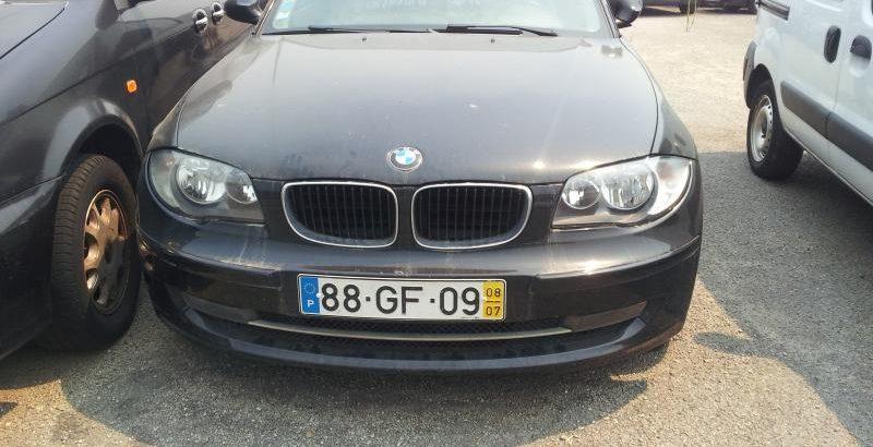 BMW série 1 de 2008 à melhor oferta 1