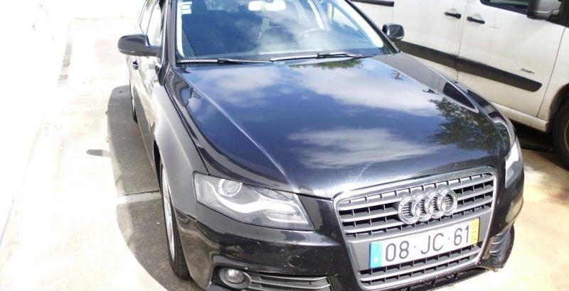 Audi A4 2010 Base de licitação 9578 euros 1