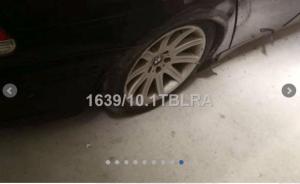 BMW 745 4398cc ano 2003 Licitação 750 euros 9