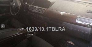 BMW 745 4398cc ano 2003 Licitação 750 euros 8