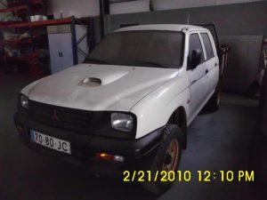 Mitsubishi L200 de 1997 Licitação 615 euros 2