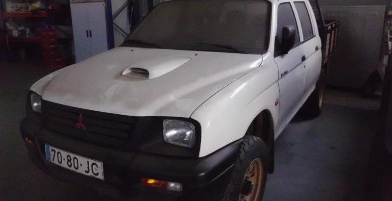 Mitsubishi L200 de 1997 Licitação 615 euros 1