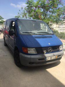 Mercedes 108D Licitação 800 euros 2