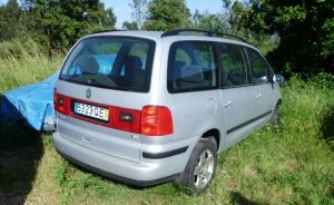 VW Sharan 1.9 TDI Licitação 500 euros 4