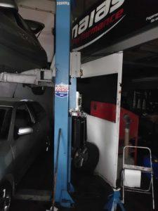 Elevador hidráulico de automóveis Licitação 1750 euros 5