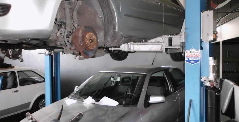 Elevador hidráulico de automóveis Licitação 1750 euros 1
