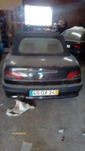 Peugeot 306 Cabrio Licitação 1291 euros 2