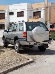 Opel Frontera gasóleo Licitação 1291 euros 2