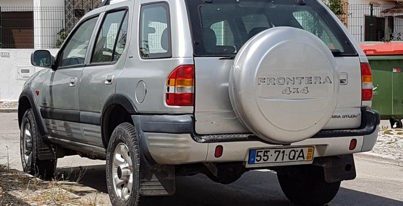 Opel Frontera gasóleo Licitação 1291 euros 1