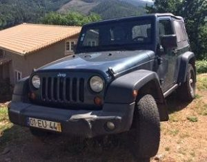 Jeep Wrangler Gasóleo licitação 7000 euros (vendido) 2