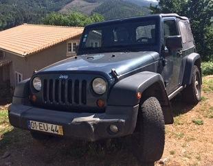 Jeep Wrangler Gasóleo licitação 7000 euros (vendido) 1