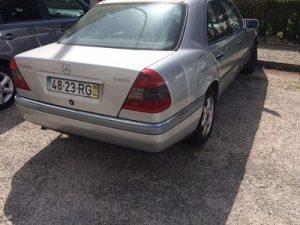 Mercedes C250 Licitação 2800 euros 2