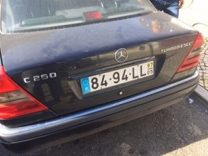 Mercedes C250 D Licitação 1750euros 2