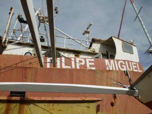 Embarcação 6 metros Licitação 2460 euros 2