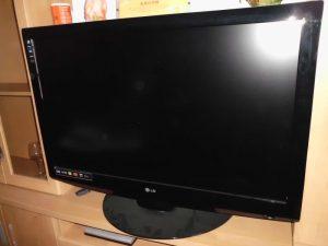Televisor LCD da marca LG Licitação 1 euro 2