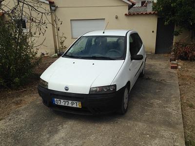 Fiat Punto DS Gasóleo  Licitação 1050 euros 1