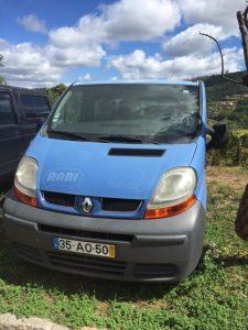 Renault Trafic 9 lugares Licitação 1165 euros 2