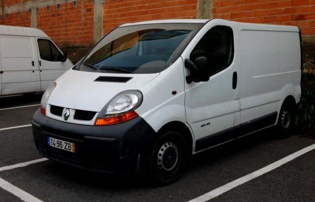 Renault Trafic de 2004 Licitação 2450 euros 1