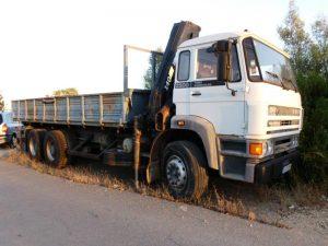 Camião DAF FAS 2503 Licitação 3500 euros 2