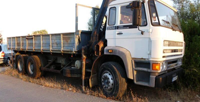 Camião DAF FAS 2503 Licitação 3500 euros 1