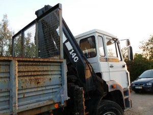 Camião DAF FAS 2503 Licitação 3500 euros 3