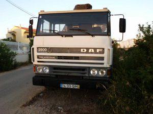 Camião DAF FAS 2503 Licitação 3500 euros 4
