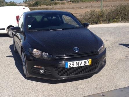 Volkswagen Scirocco Penhorado gasóleo de 2012 Licitação 11200 1