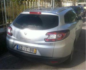 Renault Megane de 2010 Licitação 3380 euros 3