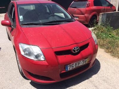 Toyota Auris Gasóleo Licitação 4858 euros 1
