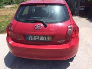 Toyota Auris Gasóleo Licitação 4858 euros 4