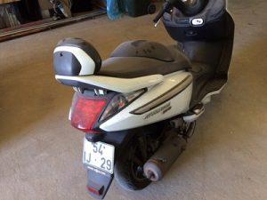 SYM 125cc ano de 2009 licitação 392 euros 8