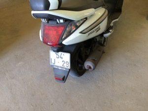 SYM 125cc ano de 2009 licitação 392 euros 4