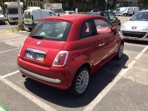 Fiat 500 de 2008 licitação 3444 euros 3