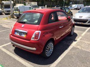 Fiat 500 de 2008 licitação 3444 euros 5