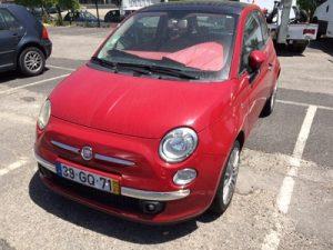 Fiat 500 de 2008 licitação 3444 euros 9