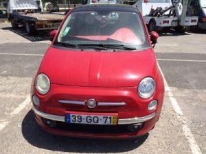 Fiat 500 de 2008 licitação 3444 euros 4