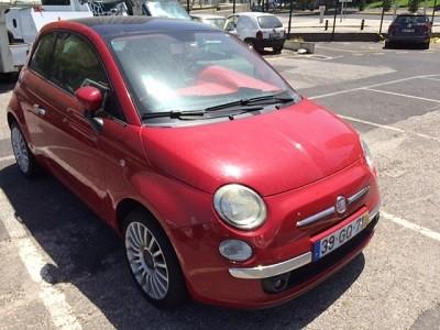 Fiat 500 de 2008 licitação 3444 euros 1