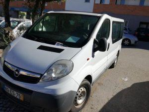 Opel Vivaro de Mercadorias Penhorado Licitação 1 euro 2