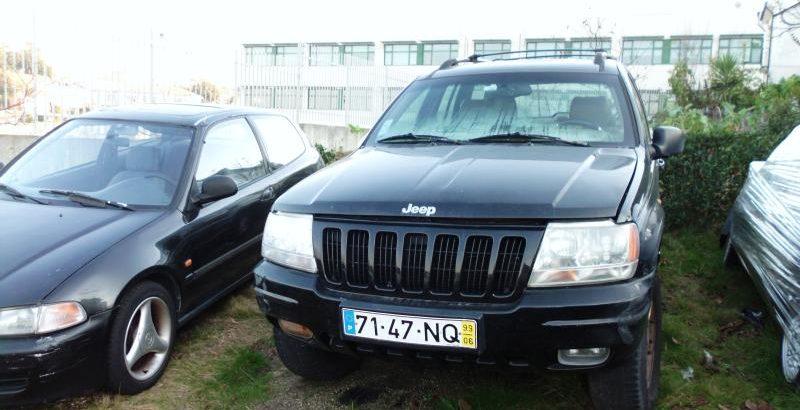 Jeep Grand Cherokee Penhorado Licitação 1 euro 6