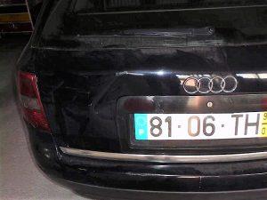 Audi A6 de 99 Penhorado Licitação 1 euro 2