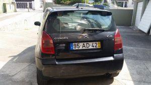Citroen C2 comercial Penhorado Licitação 645 euros 4