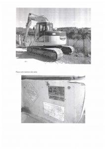 Escavadora Komatsu Penhorado Licite por 11200 euros 3