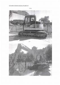 Escavadora Komatsu Penhorado Licite por 11200 euros 2